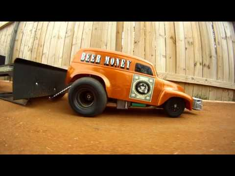 """Beer Money"" R/C 2wd Pulling Truck"