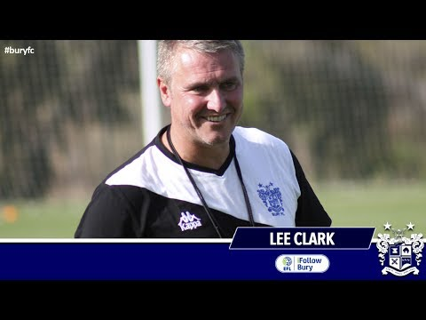 YouTube Teaser:  Clark ahead of the Crewe game