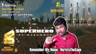 PUBG Mobile Game Play EPISODE 6 | Squad | FPP | Indian SuperHero Style