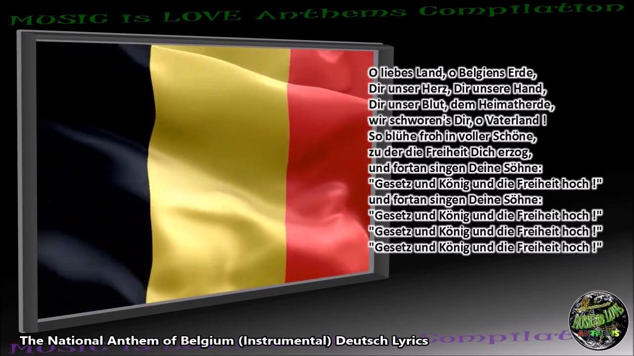 """Download Belgium National Anthem """"La Brabançonne"""" INSTRUMENTAL with lyrics FR GE DU"""