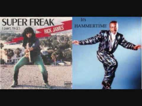 MC Hammer: Can't Touch This / Rick James: Super Freak