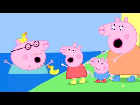 Peppa Pig Official Channel | The Biggest Muddy Puddle In The World