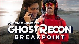Shroud & DrDisrespect carry Hollywood Movie Stars  [Ghost Recon Breakpoint]