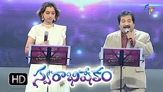 Kallalo Pelli Pandiri Song - Mano,Kalpana Performance in ETV Swarabhishekam - 18th Oct 2015