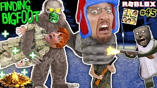 FINDING BIGFOOT GRANNY Finding Us HIDE and SEEK ROBLOX FGTEEV Extreme C ing 3-in-1 Game 45