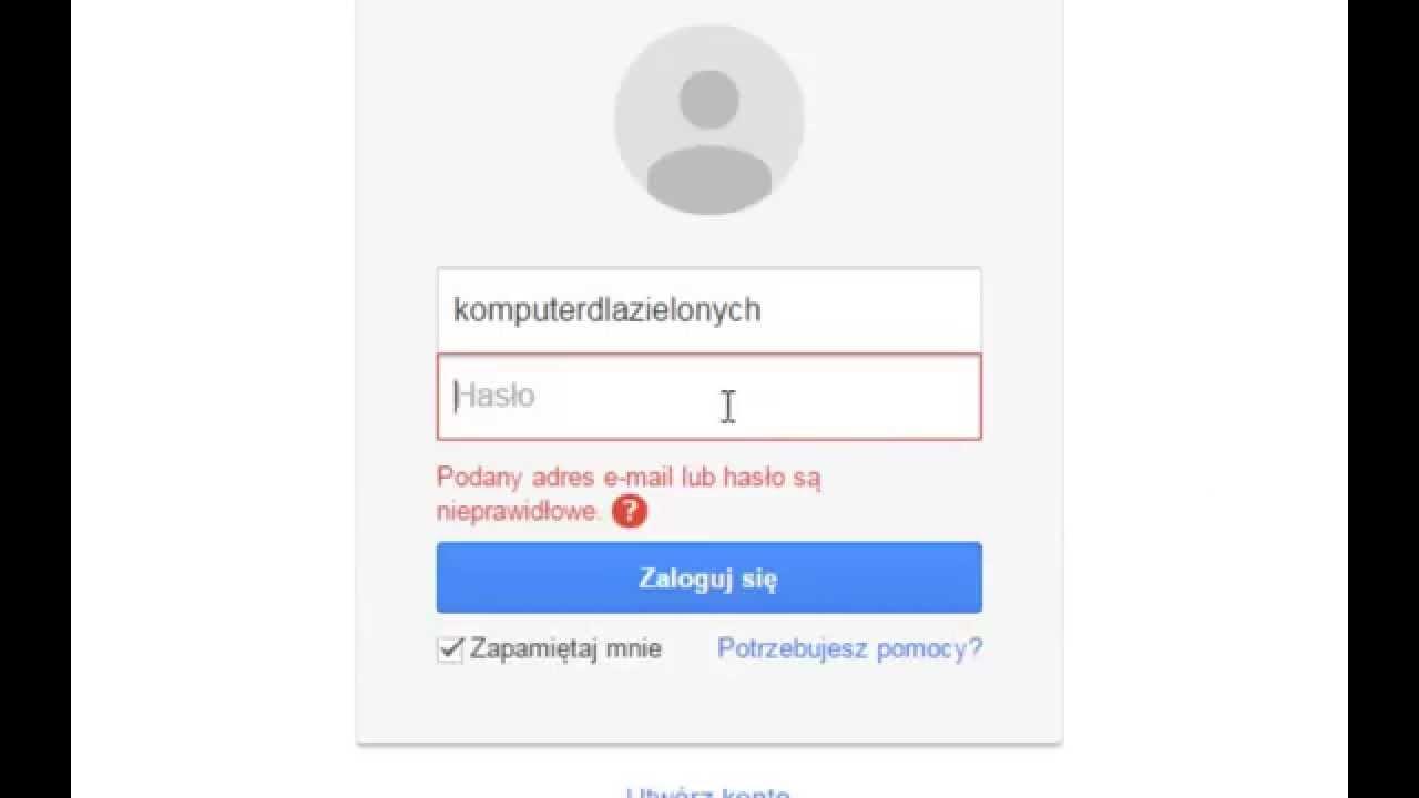 Gmail - logowanie się i odbieranie poczty - YouTube
