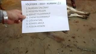 2014 Yoceyder 3 Hisse Kurban Kesimi