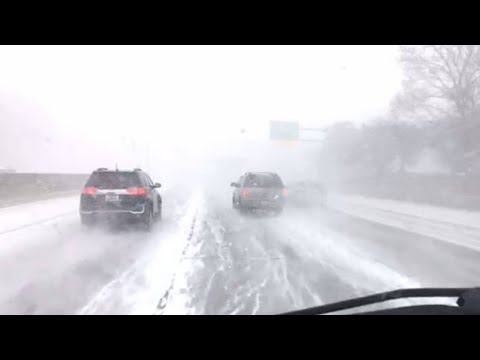 VIDEO: Dangerous Driving Conditions In St. Clair Shores