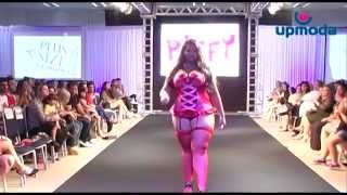 Repeat youtube video Moda Lingerie Plus Size Piffy - Upmoda