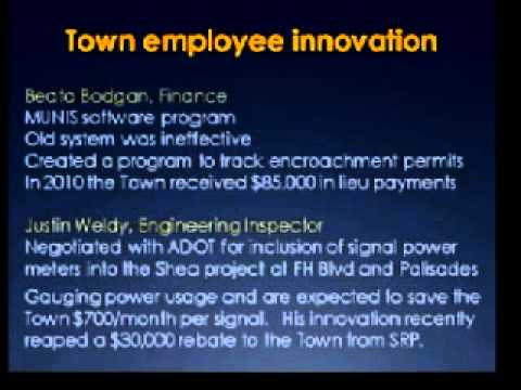 Town of Fountain Hills - State of the Town 2011