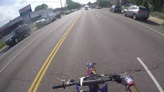 Traffic work the 2018 yz85