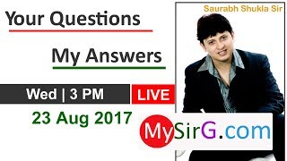 Your Questions My Answers (in Hindi) | LIVE