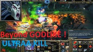 DotA 6.83d - Krobelus, Beyond GODLIKE  (Ultraa Kill)