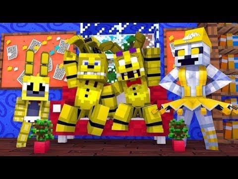 Minecraft Fnaf: Golden Animatronics (Minecraft Roleplay)