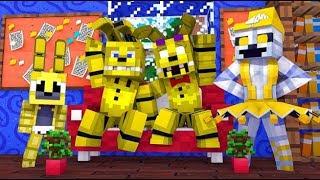 minecraft fnaf golden animatronics minecraft roleplay