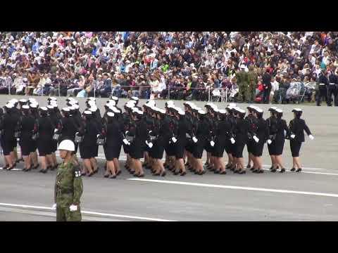平成30年度自衛隊記念日観閲式 観閲行進準備