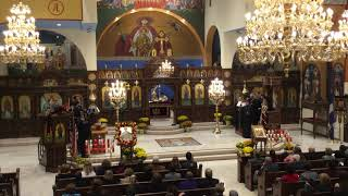 St. Demetrios Vespers at St. Demetrios in Merrick - 2018