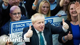 'I want us to get this done': Boris Johnson says he will not consider resigning