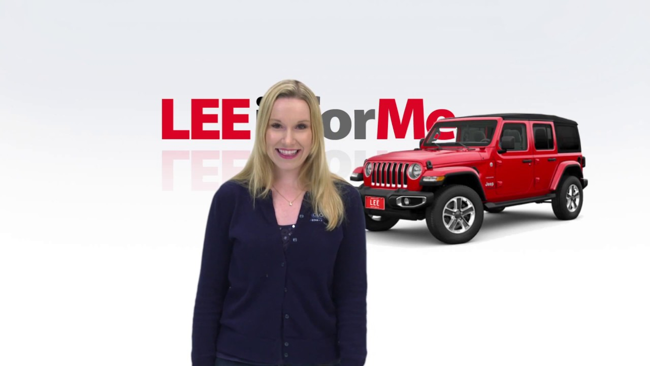 Lee Auto Mall >> Is Nancy Excited About Her New Jeep From Lee You Decide