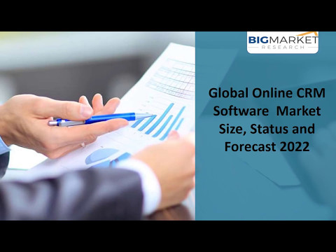 Global Online CRM Software  Market  Size, Status and Forecast 2022