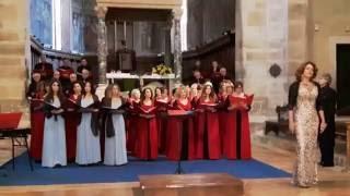 Grande Coro di Roma per AMICI Lazio - 24.09.2016 Abbazia di Farfa