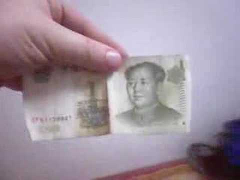 Autumn in WuHan, Chinese Money