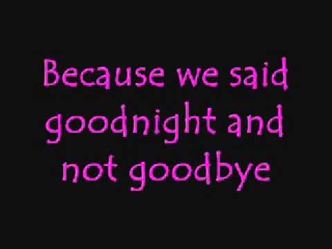 Goodnight - Evanescence (Amy Lee) lyrics