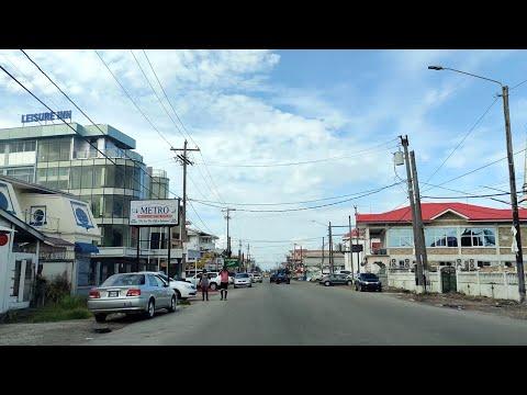 GUYANA: NEW AMSTERDAM,  EAST BERBICE-CORENTYNE AND BREAKFAST AT DEMICO QIK SERVE