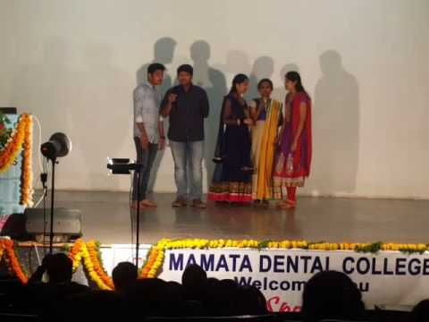 Alumni programme - Group songs by dental students