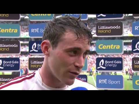 Conor Cooney After Galway v Wexford - 2017 Hurling Championship