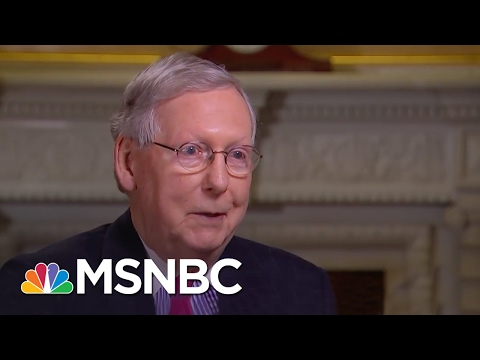 Mitch McConnell: I'm Interested In President's Actions, Not Tweets (Exclusive) | Morning Joe | MSNBC