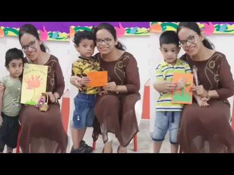 Teacher's Day Celebration | Handmade Cards for Teacher's Day | Chalk and Duster Pre-School Kakadeo
