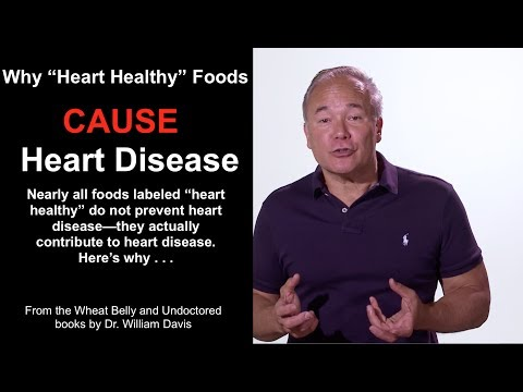 """Why """"Heart Healthy"""" Foods CAUSE Heart Disease"""
