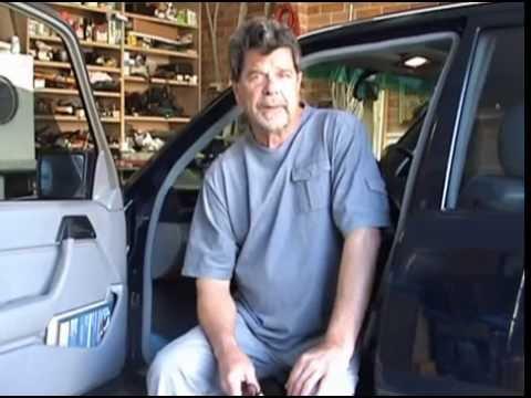 1989 Mercedes 300e Sun Roof Repair Youtube
