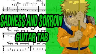 Learn How to Play Sadness And Sorrow Fingerstyle Acoustic Guitar Lesson TABS(Naruto.Ost)