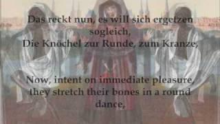 """Carl Loewe - """"Der Totentanz"""" (Goethe) Fischer-Dieskau, Demus"""