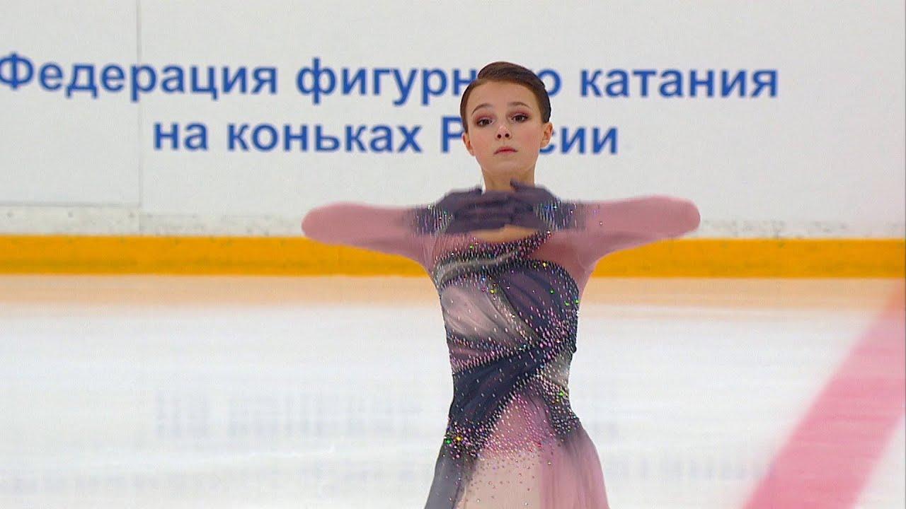 Произвольная программа. Женщины. Кубок России по фигурному катанию 2020/21