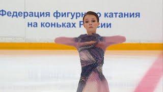 Произвольная программа Женщины Кубок России по фигурному катанию 2020 21
