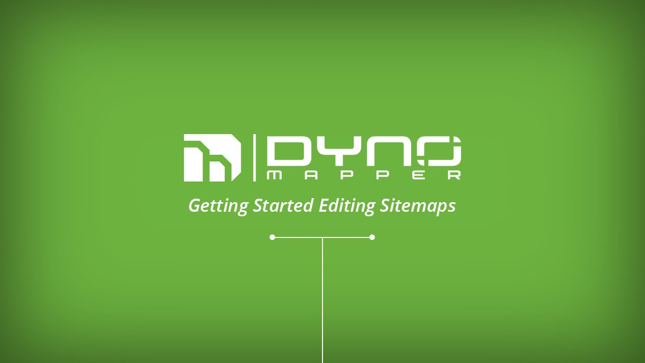 edit sitemaps using the dyno mapper sitemap generator youtube