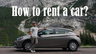 Как арендовать авто в Европе? Нюансы, советы, подводные камни.