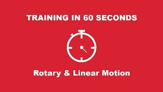 Rotary & Linear Motion Series