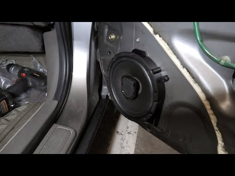 Acura RSX (2002-2006): How To Replace Front Speakers.