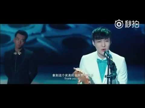 161007 EXO Lay Zhang Yixing @ Huayi Brothers Media Corp Weibo Update