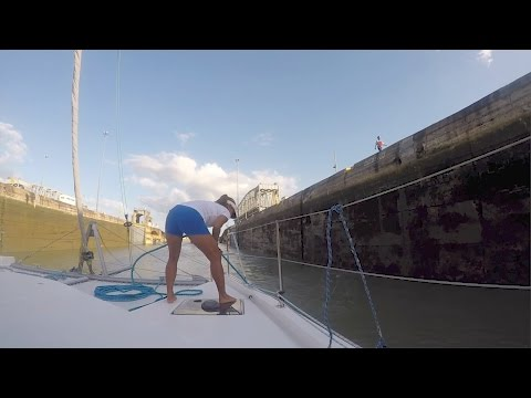 Episode 35 'Locked' and Loaded Panama Canal Part 1 Leopard 48