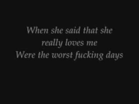 Killing Me Inside-The Tormented Lyrics