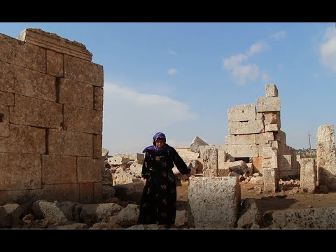 إم سلمان.. امرأة مسنة تحمي المواقع الأثرية في إدلب  - 11:55-2019 / 10 / 21
