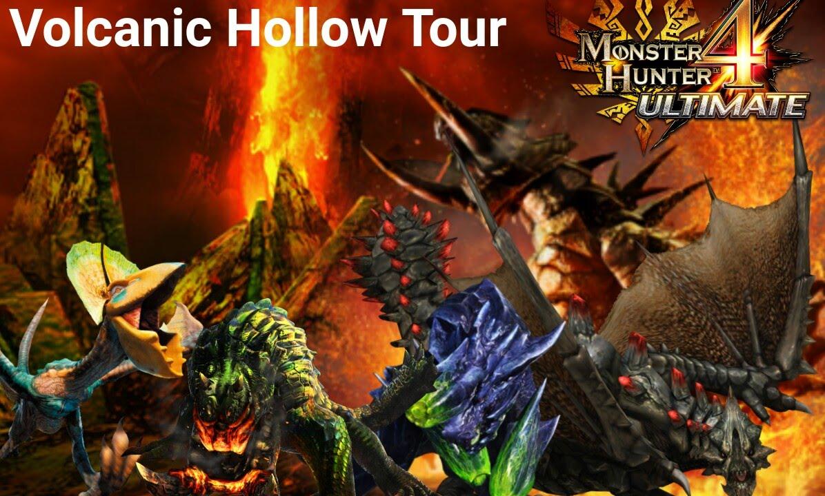 MH4U , Jonni-boy's Custom Quest's 013 : Volcanic Hollow Tour