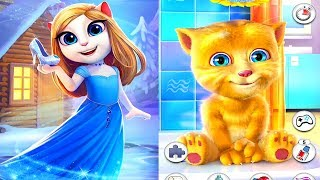 My Talking Angela VS Talking Ginger Android Gameplay
