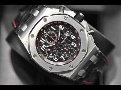 Ewc review vampire audemars piguet royal oak offshore youtube for Royal oak offshore vampire
