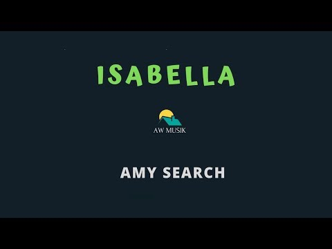 AMY SEARCH-ISABELLA(KARAOKE+LYRICS) BY AW MUSIK